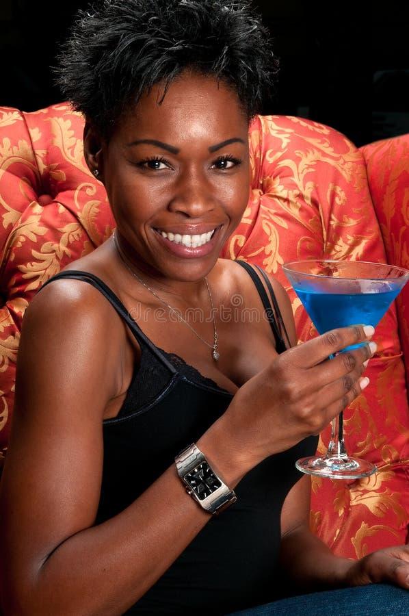 выпивает счастливое стоковое изображение