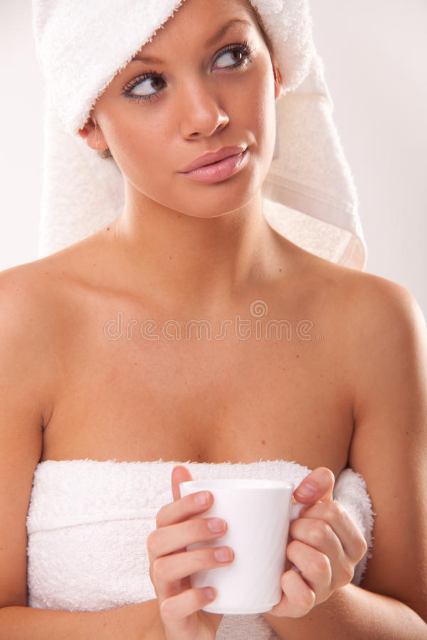 выпивать питья горячий стоковое изображение rf