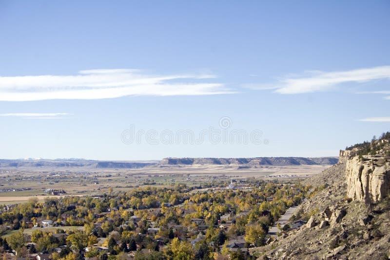 выписывания счетов Монтана стоковое фото rf