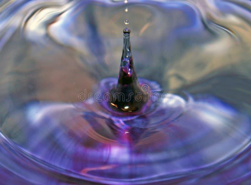 Выплеск от капелек воды стоковые изображения