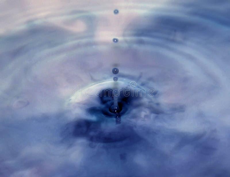 Выплеск от капелек воды стоковые фото