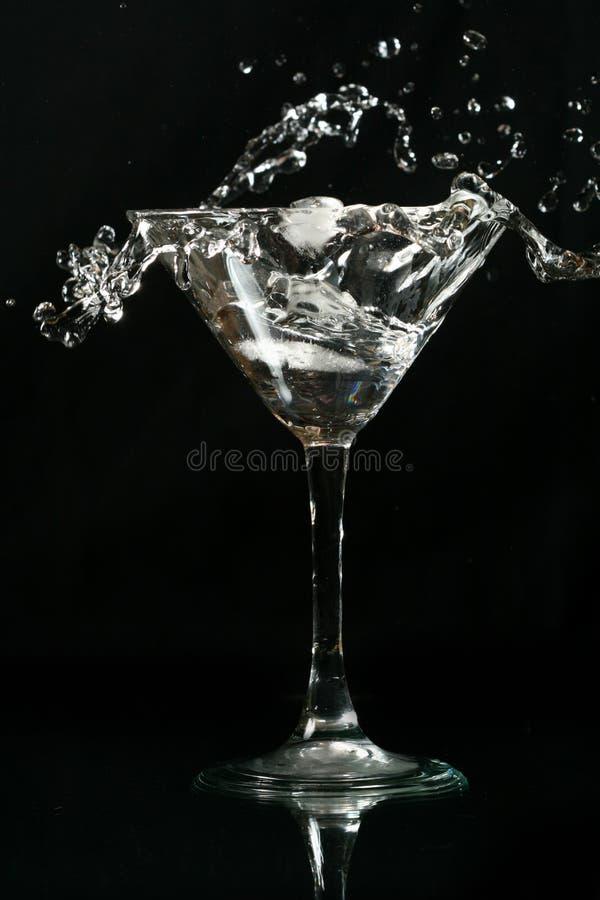 выплеск martini стоковые изображения