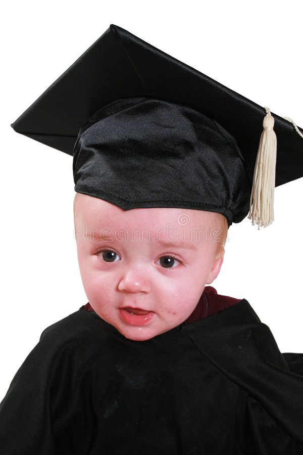 выпускник младенца стоковое фото rf