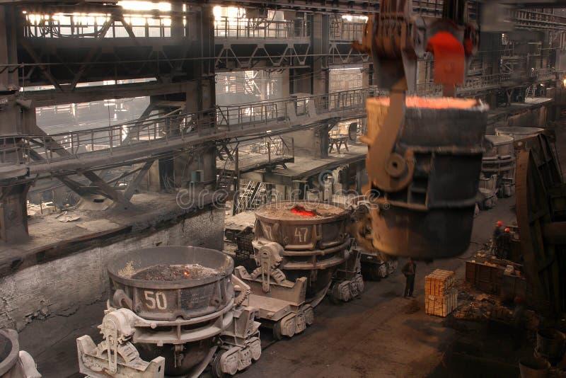 Выплавка металла стоковое изображение rf