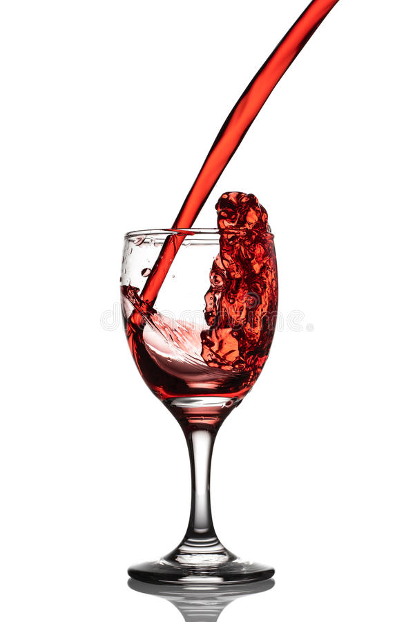 Выплеск вина стоковое фото