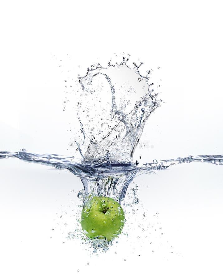 Выплеск воды стоковое изображение rf