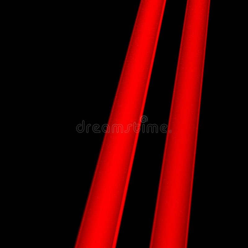 выравнивает красный цвет 2 Стоковое Фото
