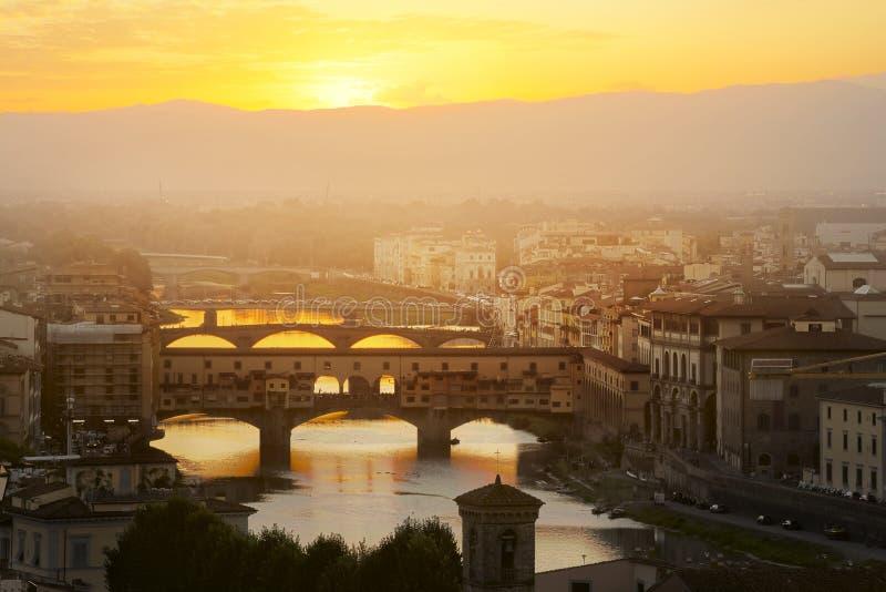 Выравниваться над Флоренсом стоковое изображение rf