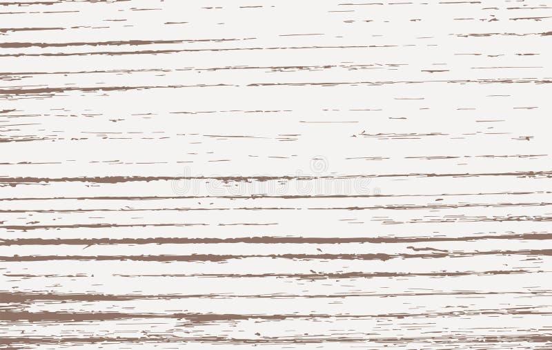 Вырезывание Брайна деревянное, прерывая доска, таблица или поверхность пола Деревянная текстура иллюстрация штока