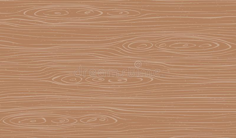Вырезывание Брауна деревянное, прерывая доска, таблица или поверхность пола : r иллюстрация штока