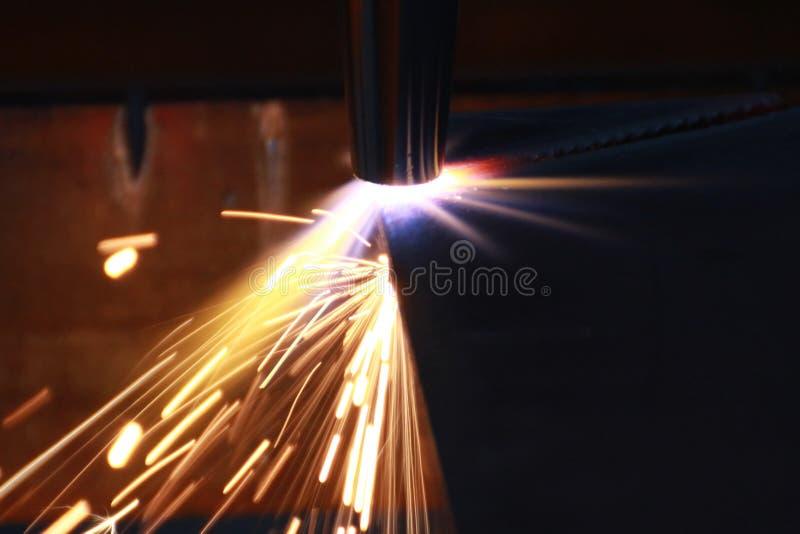 Вырезывание плазмы стоковое фото rf