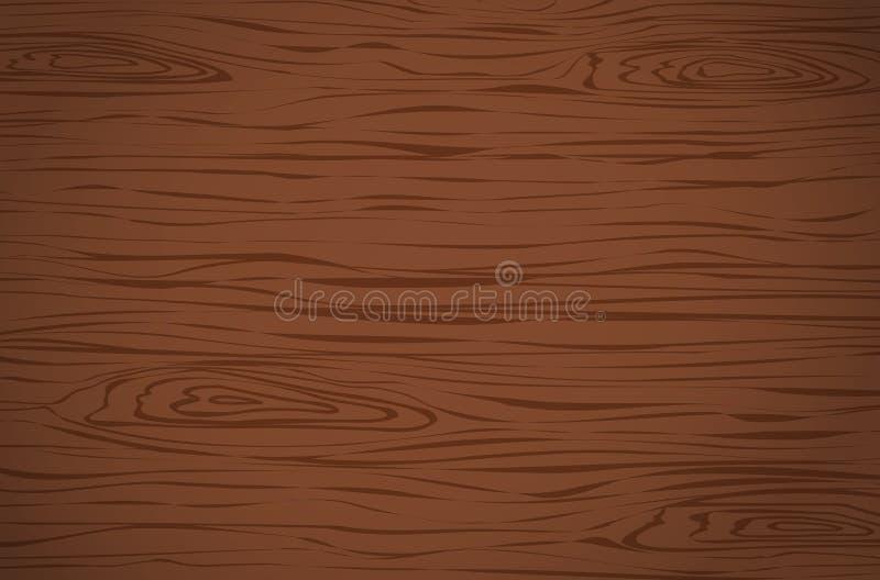 Вырезывание темного коричневого цвета деревянное, прерывая доска, таблица или поверхность пола Деревянная текстура бесплатная иллюстрация