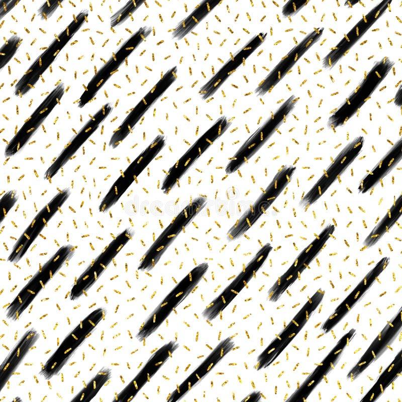 Выровняйте бумагу цифров, предпосылку яркого блеска, линию яркого блеска геометрическую иллюстрация вектора