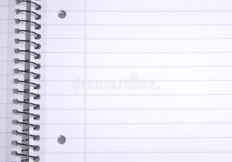 выровнянная бумага Стоковые Фотографии RF