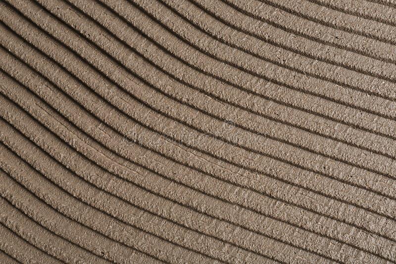 Выровнянный серый бетон как предпосылка Кафельная установка стоковое изображение