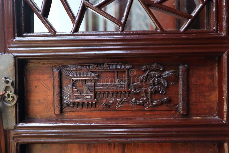 Высекаенная дверь стоковая фотография