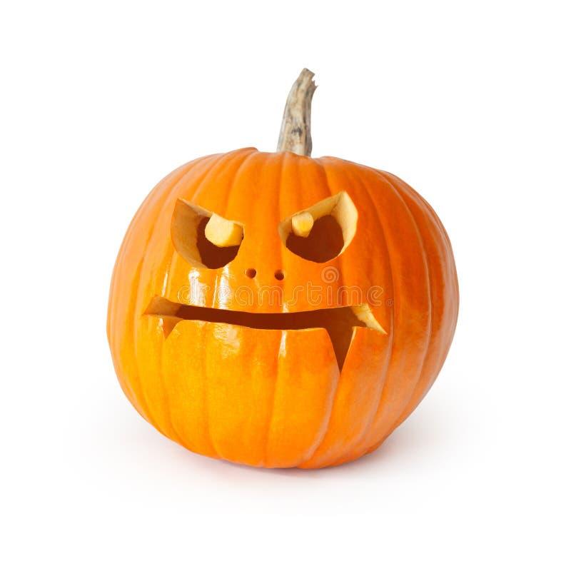 высеканная тыква halloween стоковое фото rf