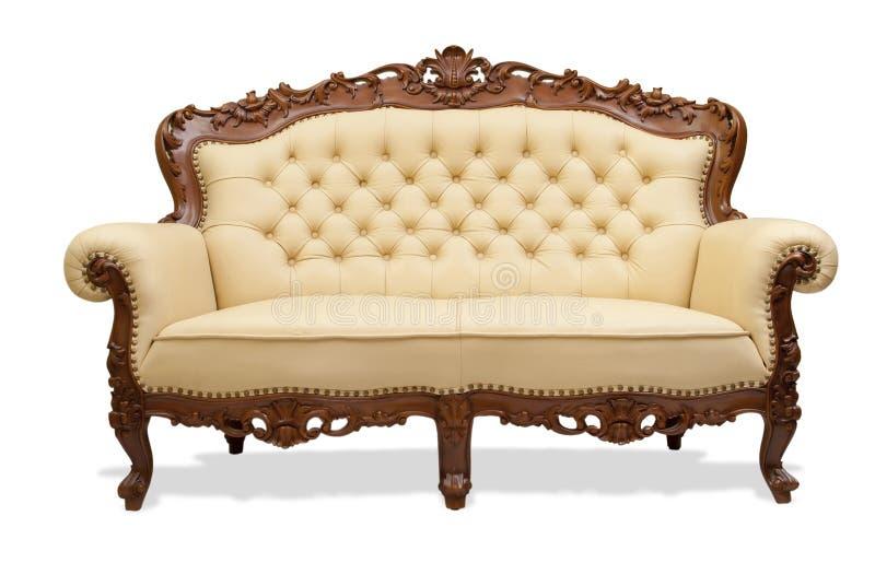 высеканное деревянное стула классическое стоковые изображения rf