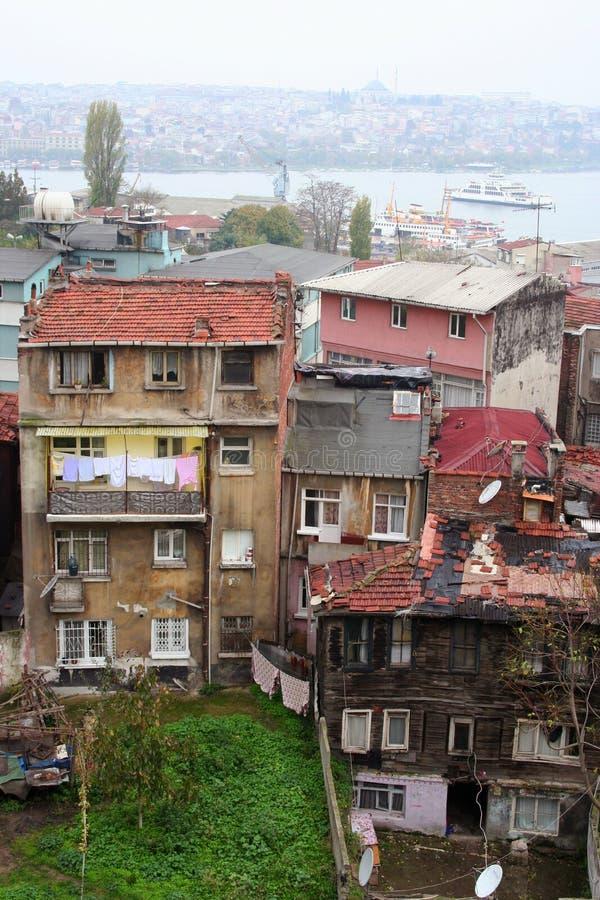 выселок бедных landscpe стоковая фотография