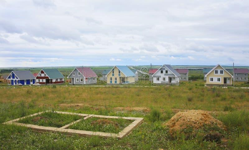 выселок деревенских домов стоковые фотографии rf