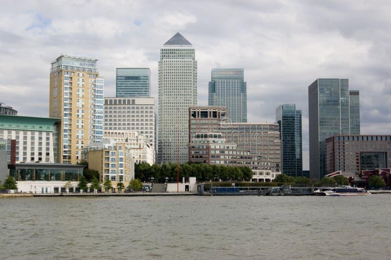 выслеживает остров London Стоковая Фотография