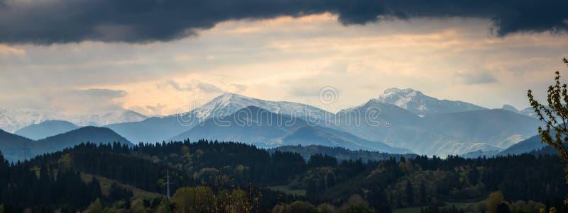 Высокая гора Tatry в Польше внутри может стоковые изображения