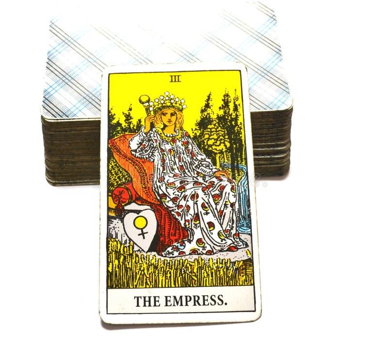 Высокая мать карточки Tarot императрицы SuaThe карточки Tarot Priestess быть матерью женщины женственного Archetbconscious мать-з иллюстрация вектора