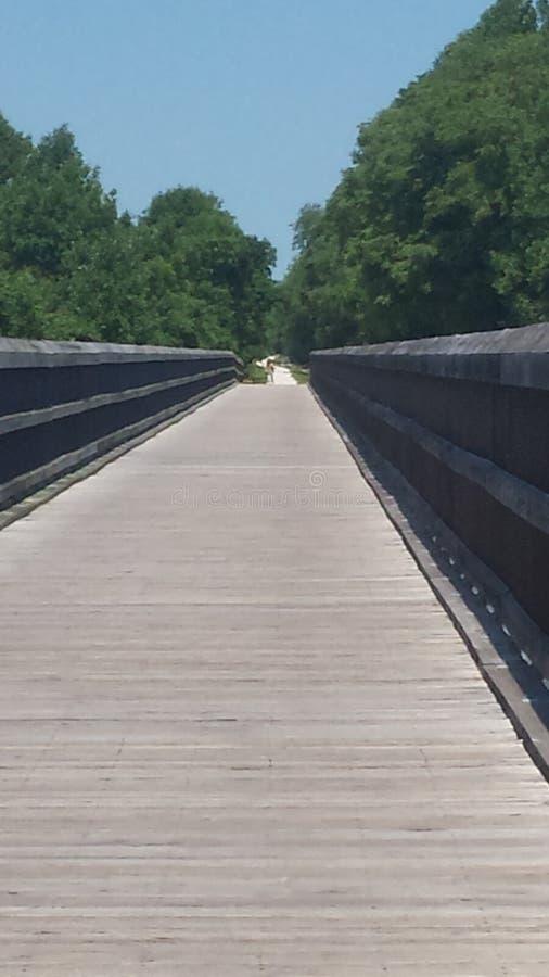 Высокая потеха моста стоковая фотография rf