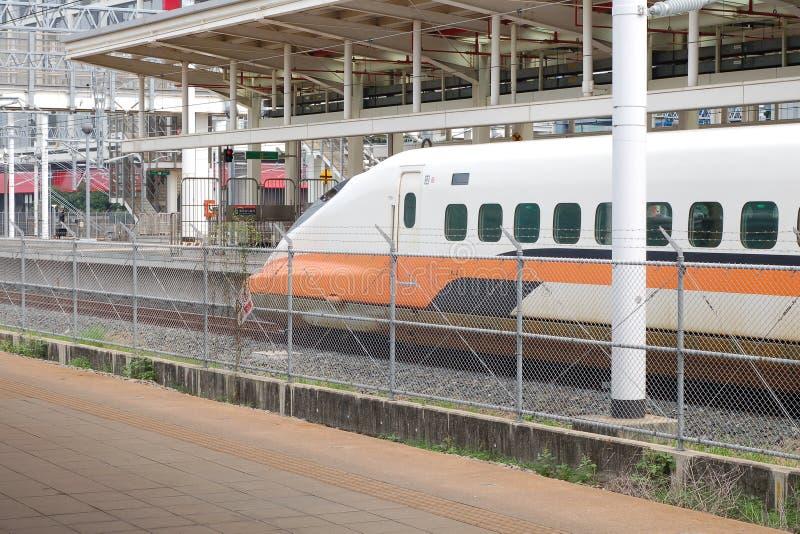 высокая станция taiwan скорости рельса стоковые фото