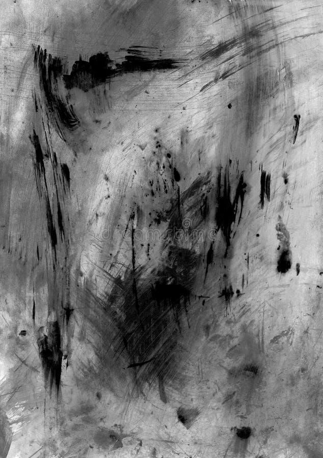 Высокая текстура grunge разрешения с ходами и царапинами щетки стоковое изображение