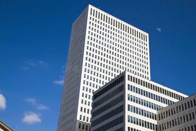 Высокие здания EMC Роттердам стоковые изображения