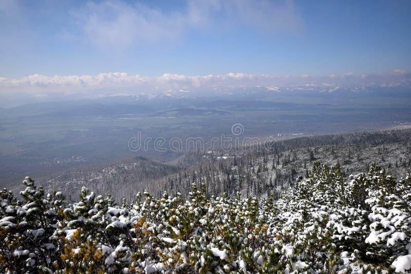 высокие tatras Словакии стоковое изображение rf