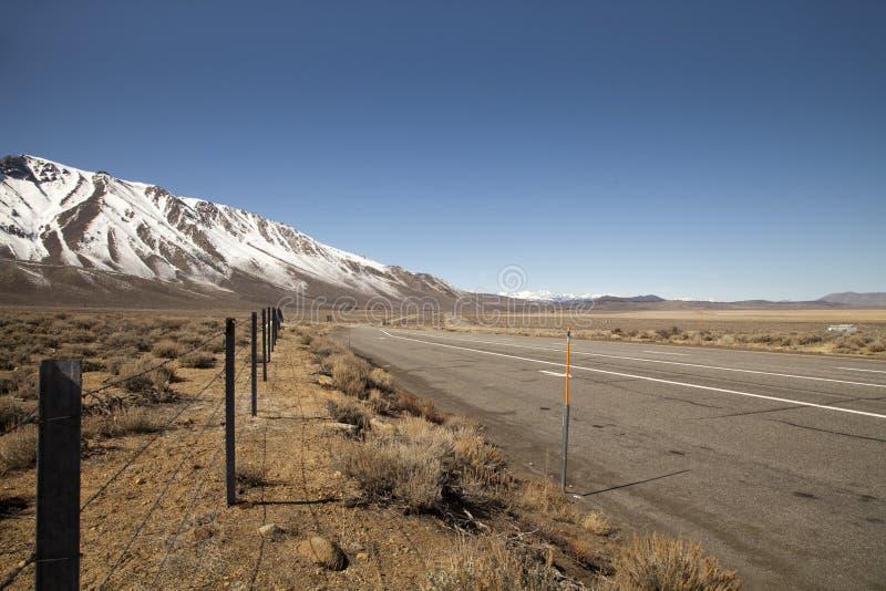 Высокий ландшафт Сьерры стоковые изображения rf