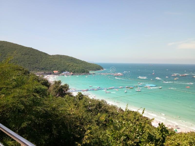 Высокий взгляд в острове стоковая фотография