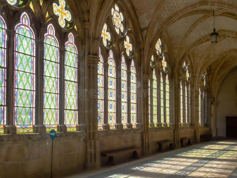Высокий монастырь - Бургос стоковые фотографии rf