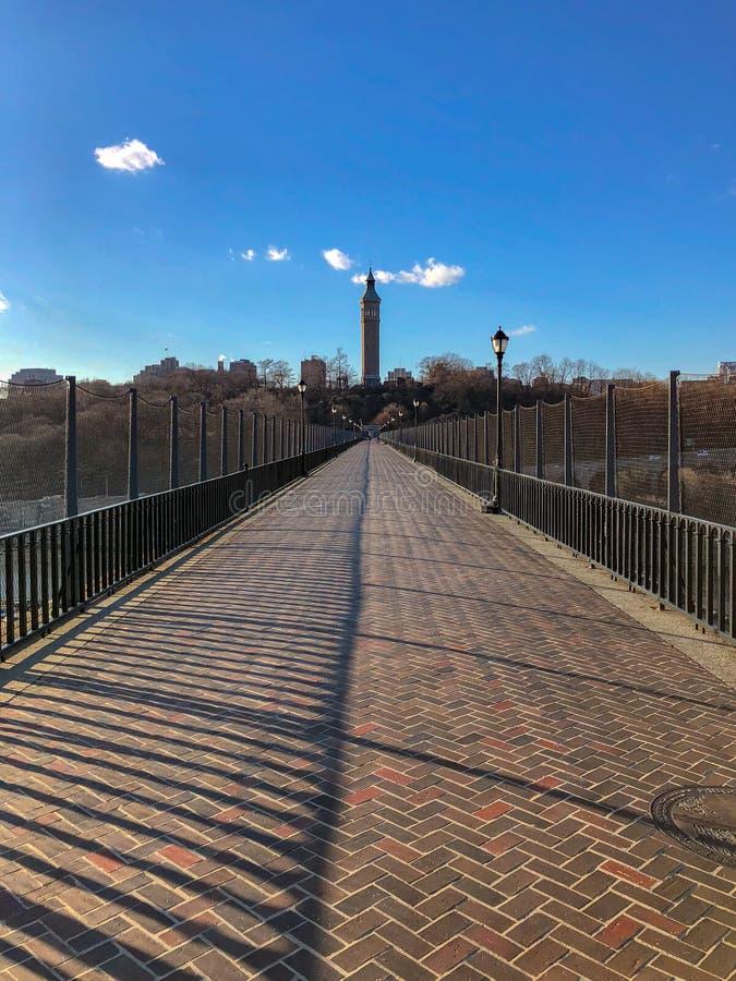 Высокий мост - Нью-Йорк стоковые фото