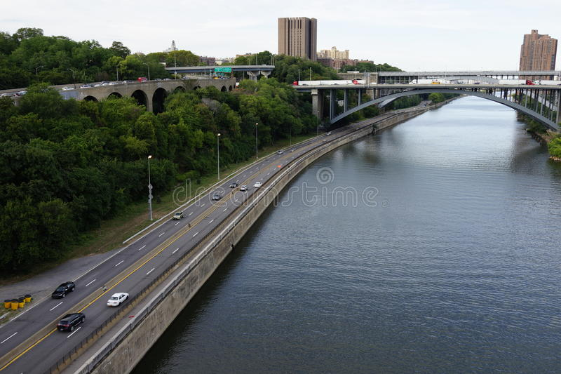 Высокий мост 37 стоковое фото rf