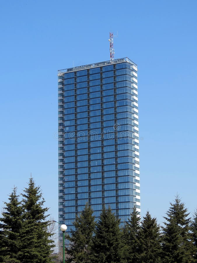 Высокий дом стоковая фотография rf