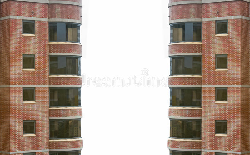 Высокий подъем buidling в городе стоковые фото