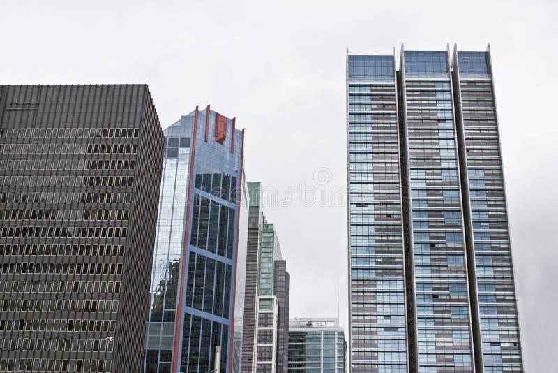 Высокий подъем buidling в городе стоковое изображение