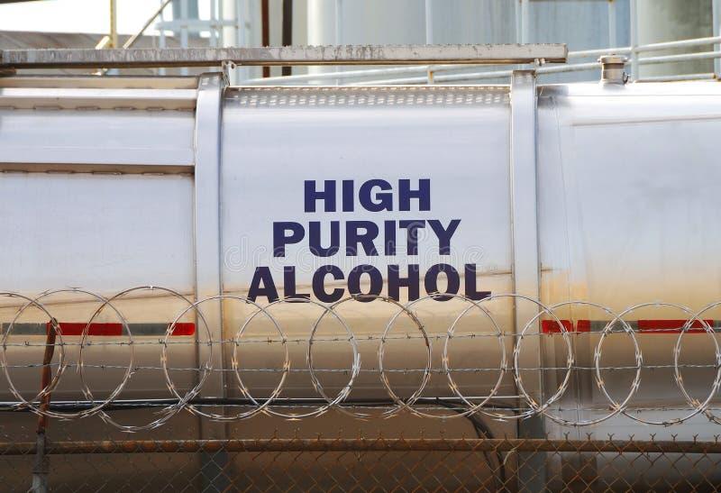 Высокий спирт стоковое изображение