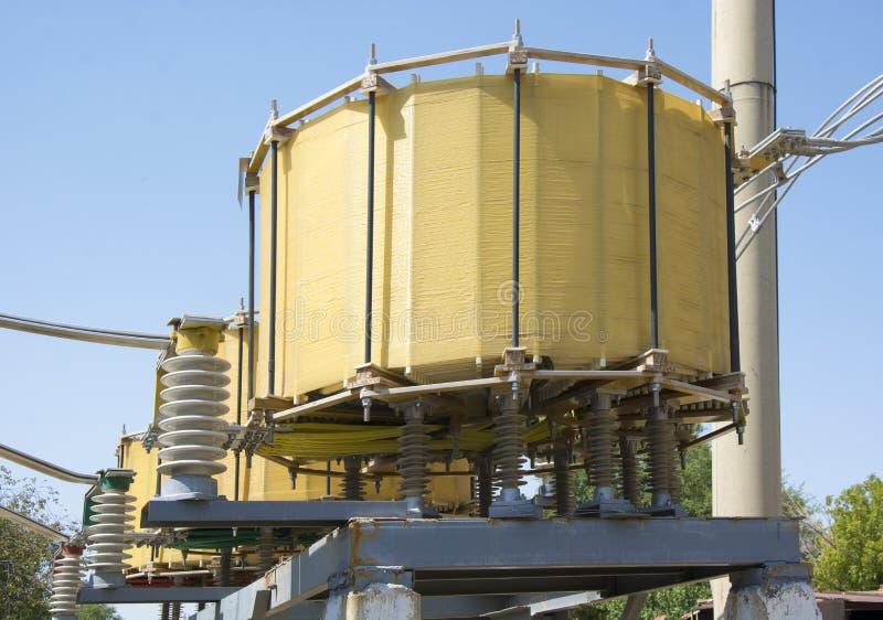 Высоковольтный реактор стоковые изображения rf