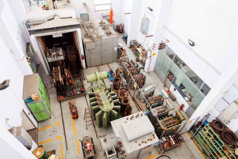 высоковольтный трансформатор стоковые фотографии rf