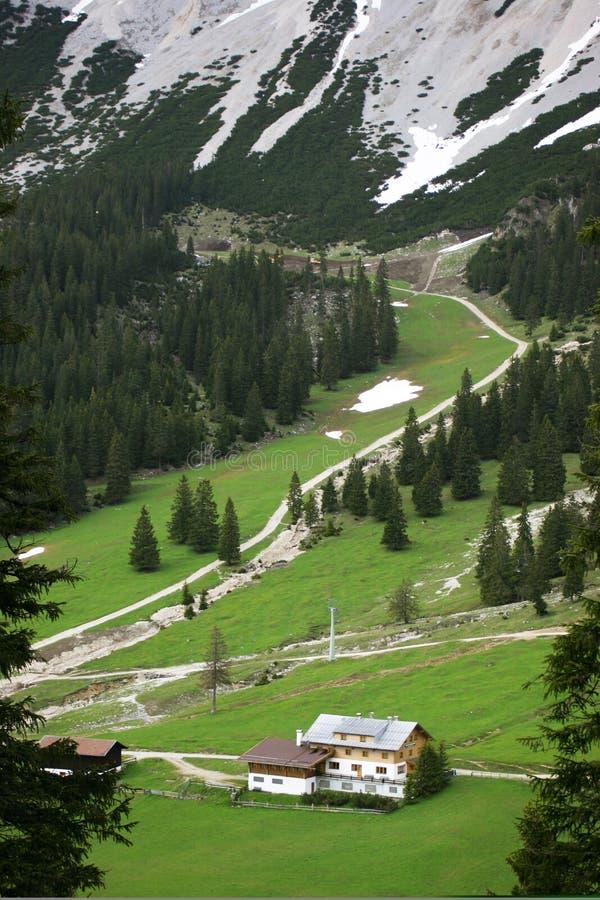 высокогорная долина стоковые фото