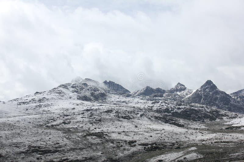 Высокогорный ледник стоковые изображения rf
