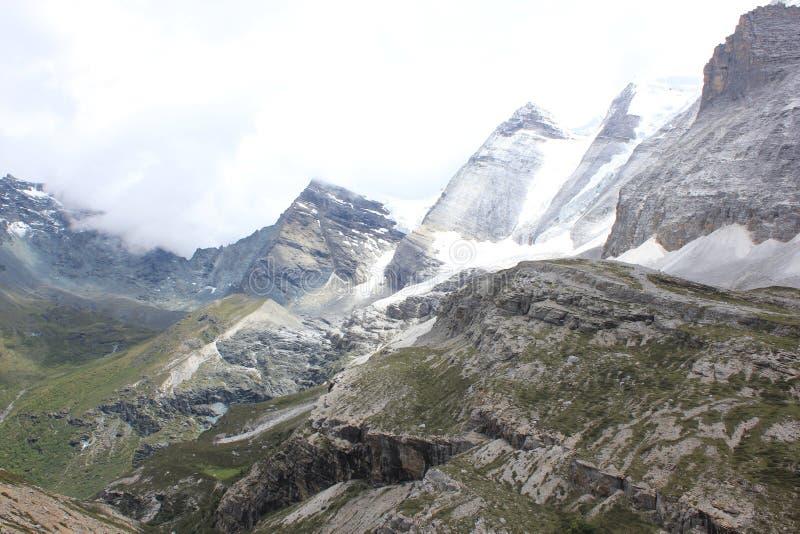 Высокогорный ледник стоковое изображение