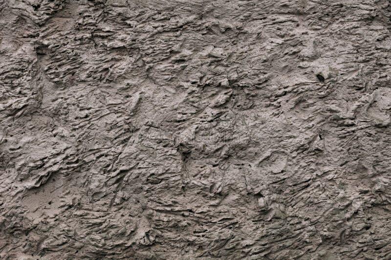 Высокое разрешение текстуры старой стены с осушенной штукатуркой и глино-глиной Полезно для текстуры старого замка или стоковое изображение