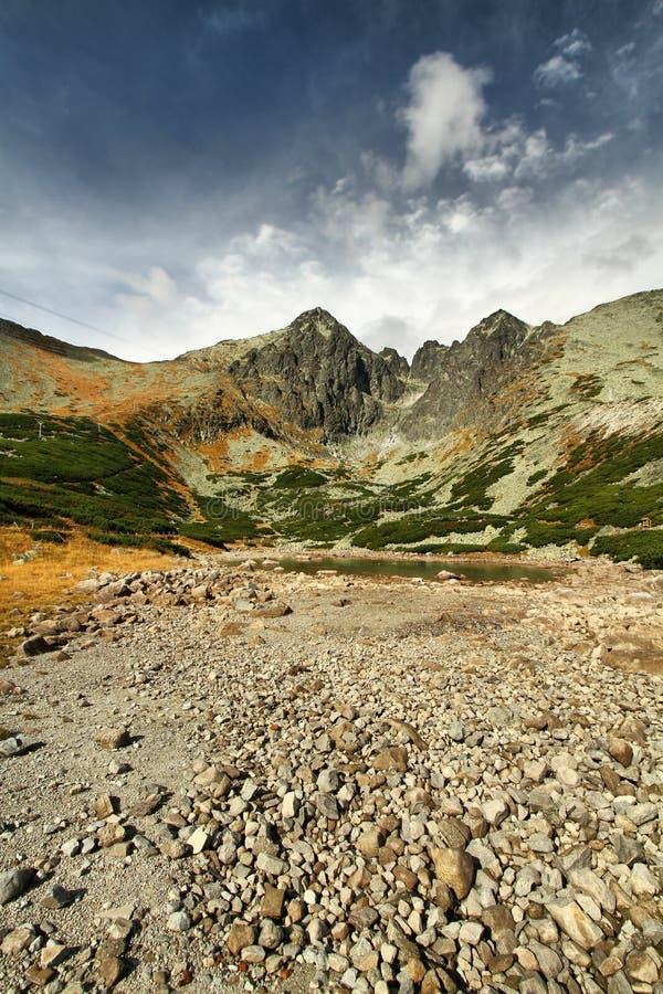Высокое Tatras стоковая фотография rf