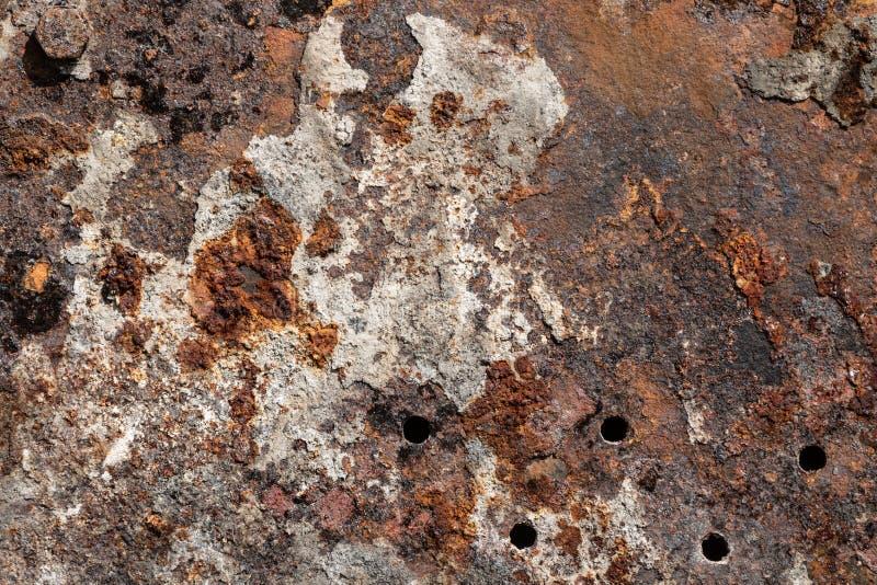 Высококачественная ржавая текстура поверхности металла grunge стоковое фото rf
