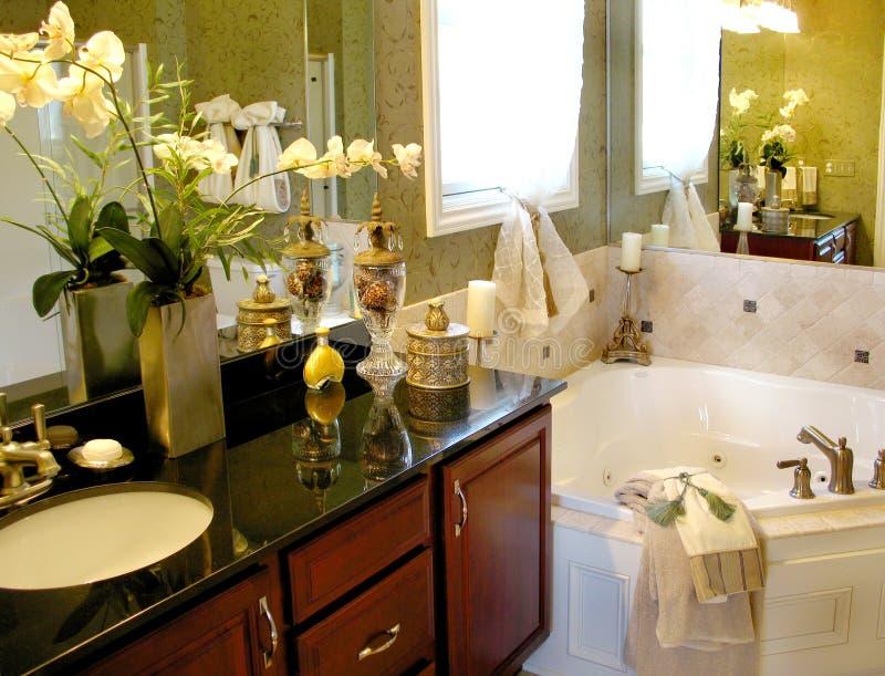 высококачественное ванной комнаты мастерское стоковое фото rf